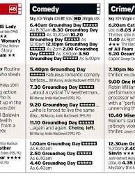 groundhog sky showing 24 hour marathon movie