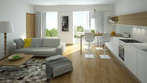 Living Room With Laminate Flooring 4 Furniture Layout Floor Plans For A Small Apartment Living Room
