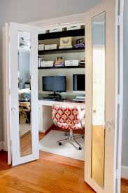 furniture decorating stylish desk in closet for overwhelming home
