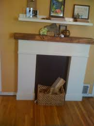 easy create faux fireplace mantel u2014 interior exterior homie