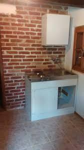 brick kitchen ideas small brick kitchen for traditional wooden croatian house hometalk