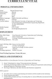 Resume Format Pdf For Electrical Engineer by 6 Electrical Engineering Resume Templates Download Free