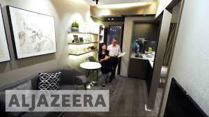 micro flats tackle hong kong u0027s high housing prices youtube