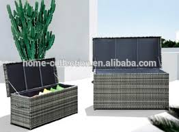 Patio Cushion Storage Bin by Garden Set Rattan Waterproof Outdoor Cushion Storage Box Buy