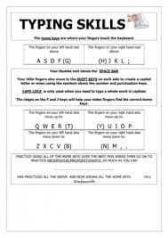 word processing teaching ideas