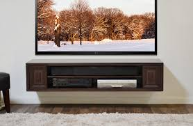 Tv Stands With Mount Walmart Extraordinary Floating Wall Shelves Tv Storage Under Mounted Tv