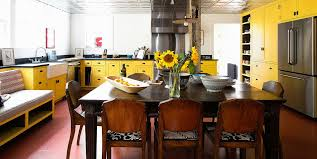 yellow kitchen walls white cabinets 21 yellow kitchen ideas decorating tips for yellow colored