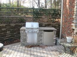 patio grill triyaecom small backyard kitchen ideas various design