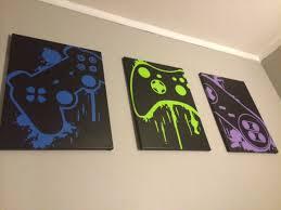 wall art amusing video game canvas art video game art posters