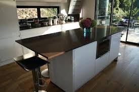 comment faire un plan de travail pour cuisine table haute plan de travail chaises hautes cuisine fly chaise de