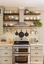 shelving ideas for kitchens best 25 open shelving in kitchen ideas on open