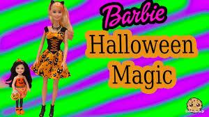 target girls halloween costumes barbie target exclusives halloween magic u0026 chelsea pumpkin dolls