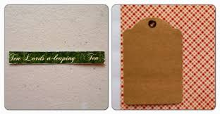 paperiah 12 days of christmas gift tag tutorial