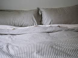 red land cotton u2014 lawrence ticking stripe duvet cover