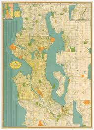Map Of Seattle Seattle Historical Maps Kroll Map Company
