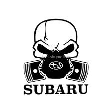 subaru rally logo subaru skull