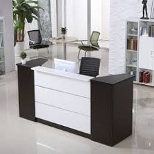 office reception desk for sale top quality commercial small office front desk wooden modern spa