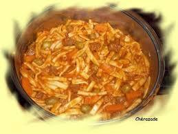 cuisine tunisienne pate au thon pâtes tunisiennes plaisirs gourmands