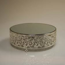 silver wedding cake stand plain ideas silver wedding cake stand gorgeous design