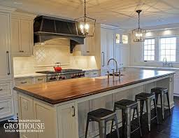 wood tops for kitchen islands 161 best kitchen islands with wood countertops images on