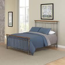 homesullivan calabria antique brown queen bed frame 40e411b221w 3a