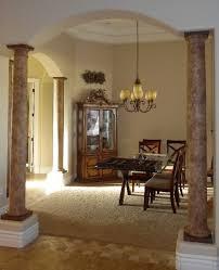 columns painted like faux stone beautiful walls by doug