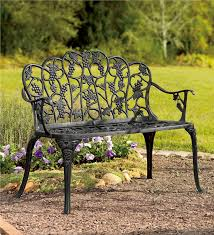 How To Restore Metal Outdoor Furniture by Elegant Iron Bench Outdoor Diy How To Restore A Cast Iron And Wood