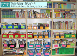 Classroom Bookshelf The Real Teachr Classroom Library Week Part 2 How To Organize