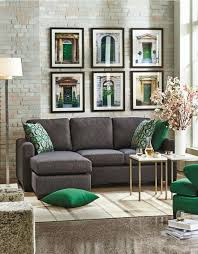 Living Room Ideas With Grey Sofa 30 Green And Grey Living Room Décor Ideas Digsdigs