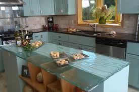 plane de travail cuisine 10 plans de travail en verre très stylés pour la cuisine bricobistro