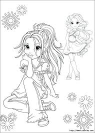 Coloriage De Fille Top Model  fajarindrainfo