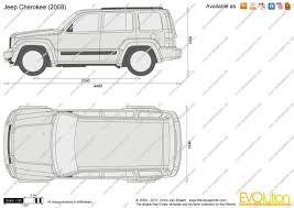 jeep drawing the blueprints com vector drawing jeep cherokee