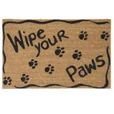 Buy Wipe Your Paws Door Wipe Your Paws Doormat 15 Liked On Polyvore Featuring Home