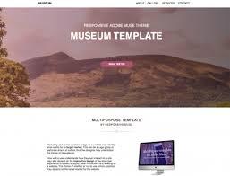 photography template responsive muse templates u0026 widgets