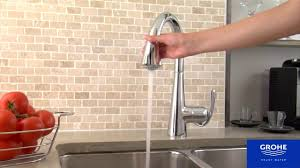 Grohe K4 Kitchen Faucet by 32294 Grohe Zedra Youtube