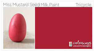 mms milk paint colors reds colorways with leslie stocker