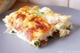herve cuisine lasagne lasagne ricotta jambon tomates séchées shrink in the kitchen