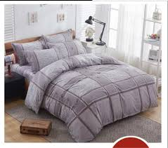 Twin Plaid Bedding by Compare Prices On Grey King Comforter Online Shopping Buy Low