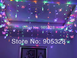 Christmas Lights Ceiling by Aliexpress Com Buy Free Shipping Butterfly Led String Strip