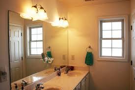 rustic bathroom light fixtures grey ceramic tile beige ceramic