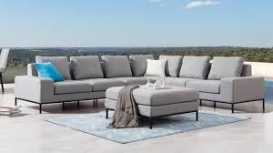 june outdoor l shape lounge with ottoman lavita furniture