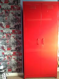 lockers for bedrooms red locker wardrobe from next co uk katie pinterest lockers