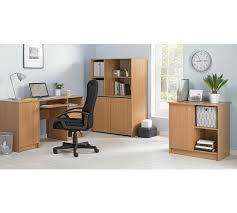 Argos Office Desks Buy Home Calgary Hideaway Corner Desk Oak Effect At Argos Co Uk