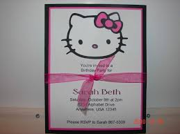 extraordinary hello kitty birthday invitations blank almost grand