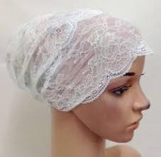 lace headwear muslim women lace hat islamic inner caps headwear underscarf