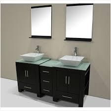 60 double sink bathroom vanity cabinet enhance first impression