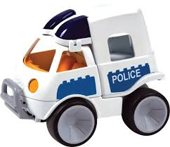 police car toy gowi toys junior police van