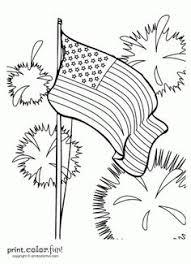coloring page colonial flag printable original american flag