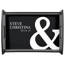 wedding serving trays personalized mr mrs wedding serving tray personalized
