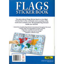 Country Flags Small Flags Sticker Book Sticker Books At The Works
